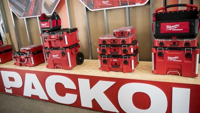 Milwaukee Packout Modular Storage System