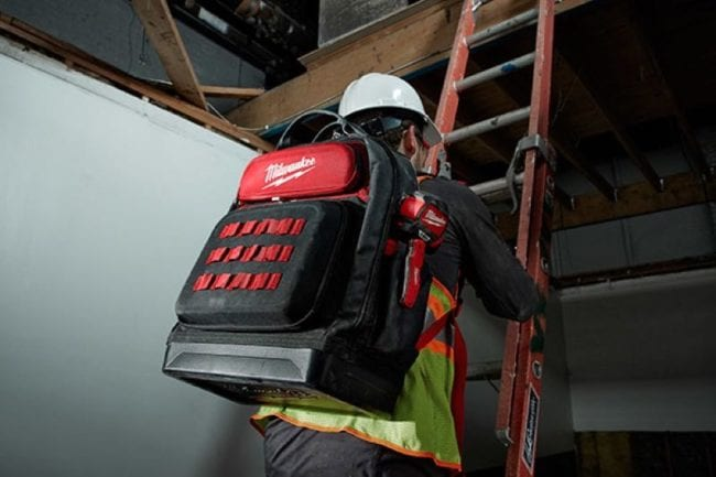 New Milwaukee Jobsite Backpacks