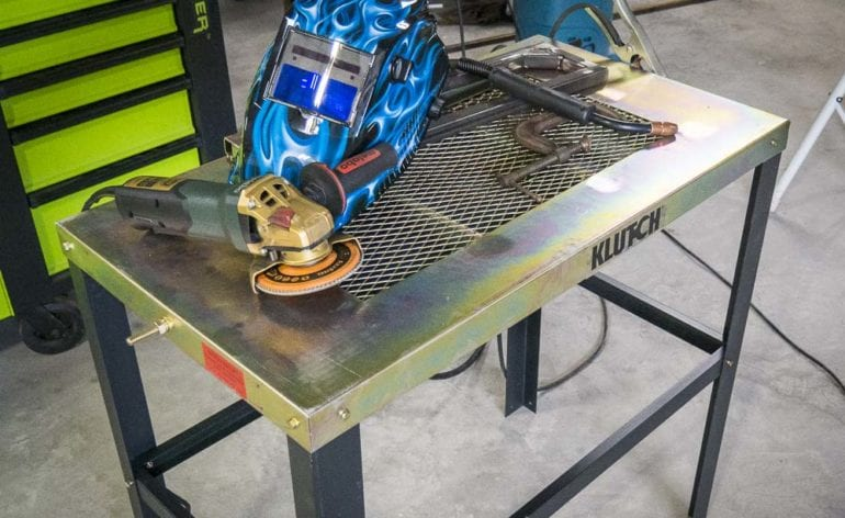 Klutch Welding Table Featured