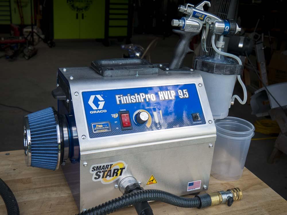 Graco FinishPro HVLP Sprayer
