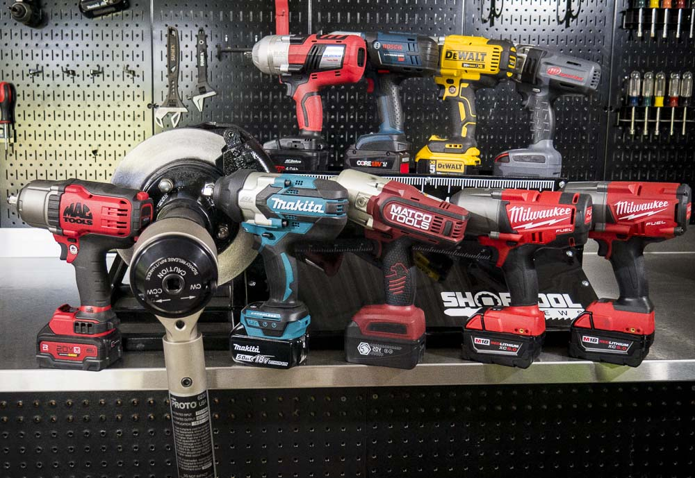 Best Cordless Impact Wrench Shootout – High Torque 2017