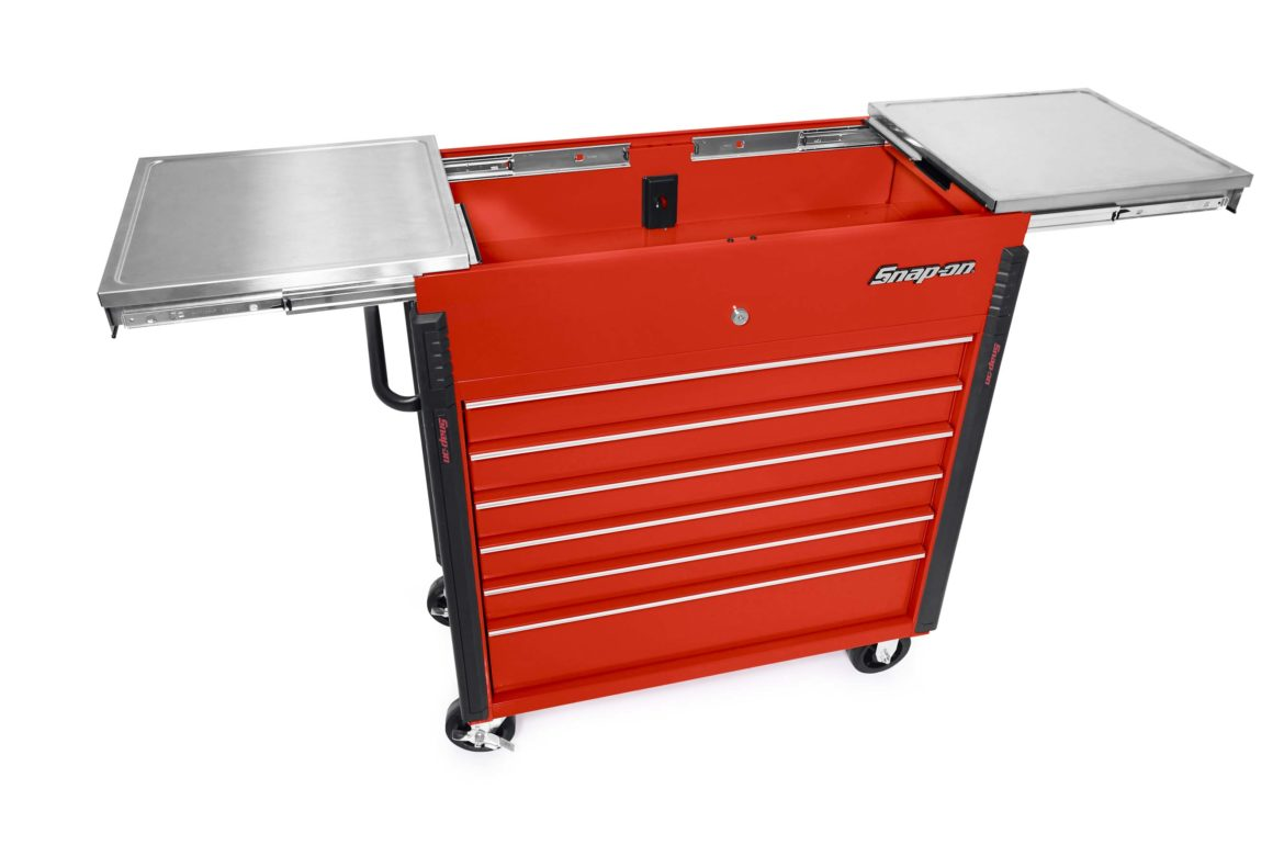 Snap-on Shop Cart – KRSC430 Sliding Lid 40-Inch
