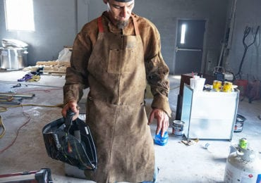 Welding Safety Equipment Apron and Hat