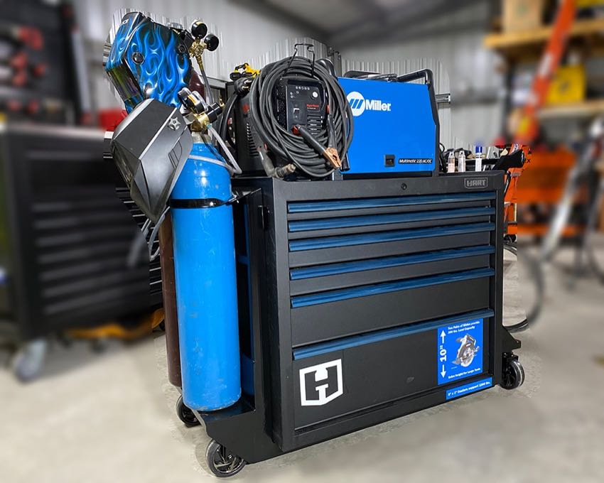 DIY HART Welding Cart FI
