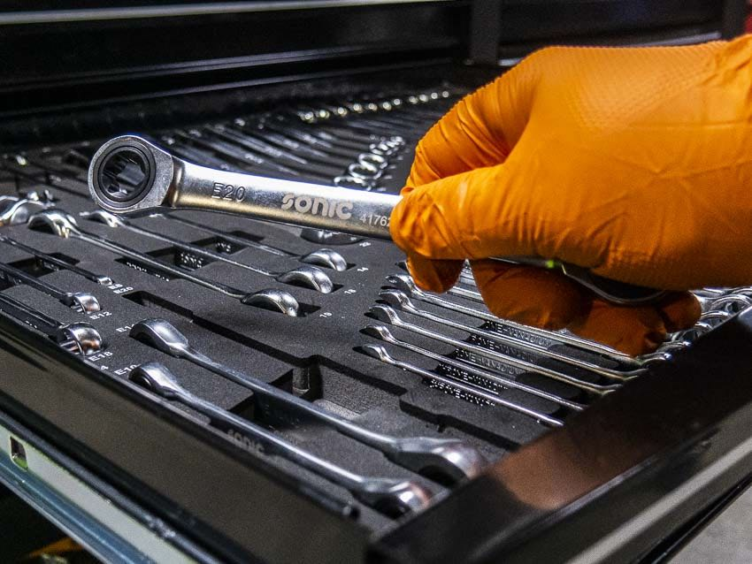 Sonic Tools Wrenches Video Review [SATISFYINGLY ORGANIZED]